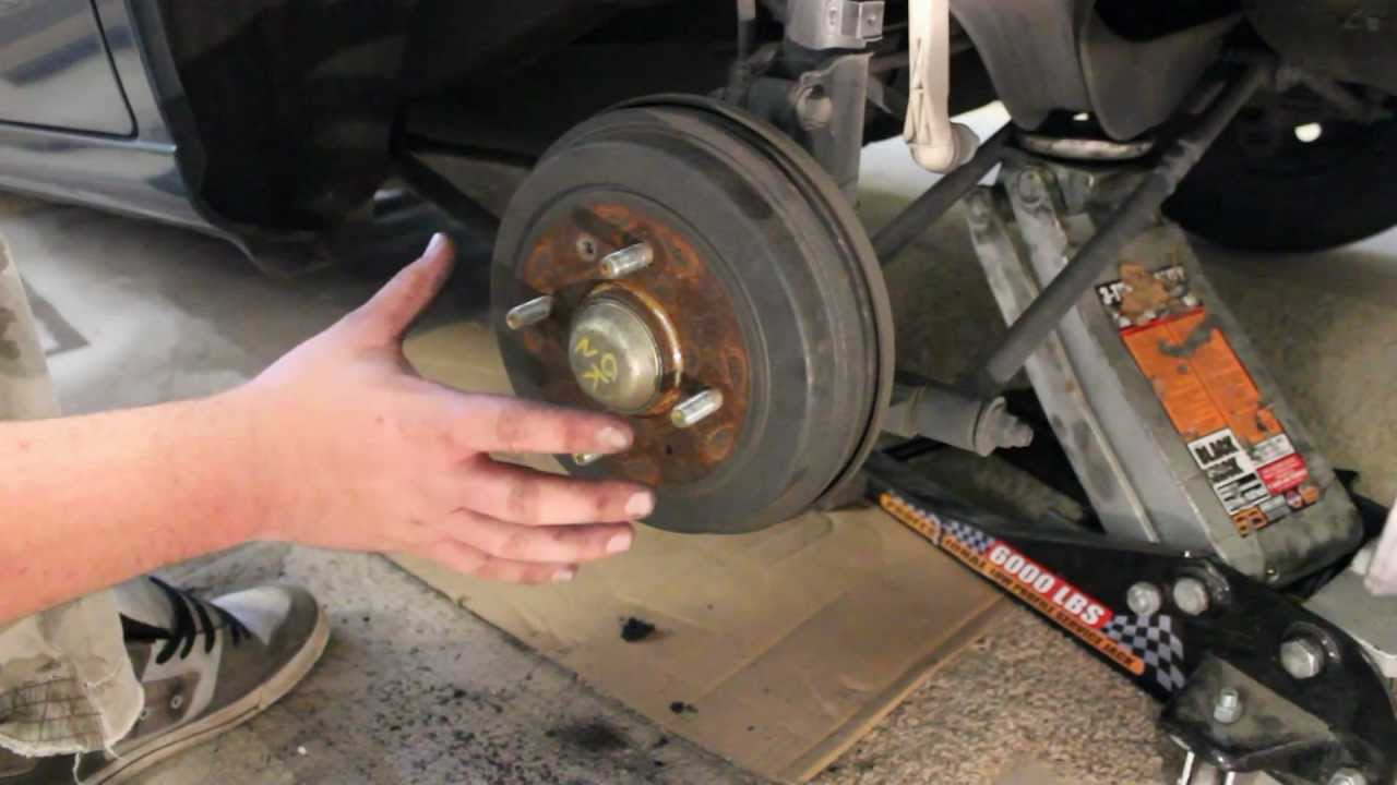 How To Replace Rear Brakes Hyundai Youtube