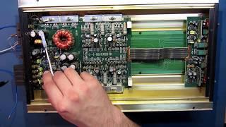 Ремонт автомобільного підсилювача PHANTOM. Не включається.