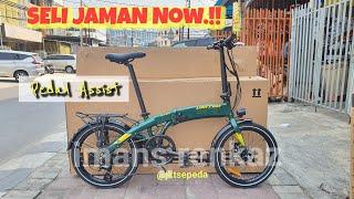 Sepeda Lipat Lagi Hits..!!   E Folding bike UNITED Furion