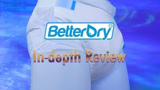BetterDry® Brief Adult Diaper In-Depth Review #adultdiaper #incontinence
