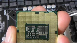 intel lga1155 1156 core i3 i5 i7 cpu installation tutorial guide walkthrough linus tech tips
