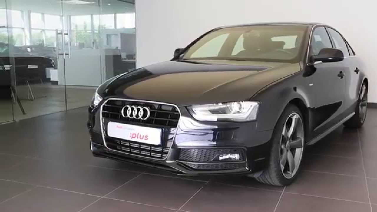 audi a4 occasion 2 0 tdi 150 dpf s line noir fant me youtube. Black Bedroom Furniture Sets. Home Design Ideas