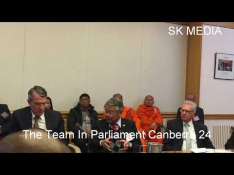SK Media Report By Mr Korb Sao Trip To Parliament Canberra 23
