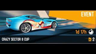---Asphalt 8 - Crazy Sector 8 Cup - 01:01:677 - Lamborghini Miura---