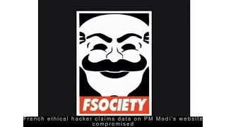 Latest Technology News - French ethical hacker claims data on PM Modi's website compromised