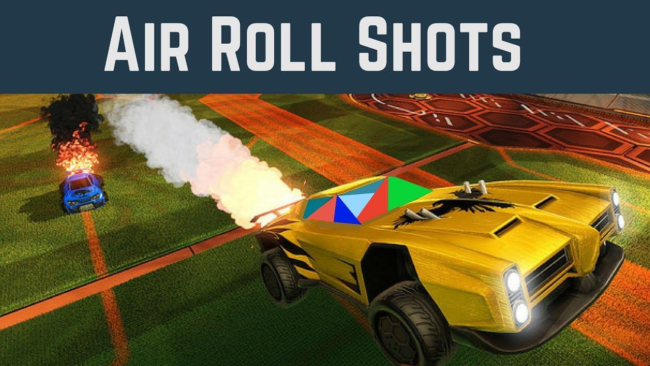 Rocket League Tutorial: Air Roll Shots