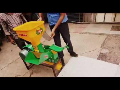 Animal feed Processor machine cum chaff cutter  India model VIDHATA JF 2d  - call 09997408448