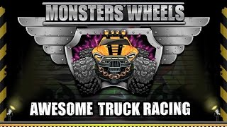 Facebook GameRoom:  Monsters' Wheels HD