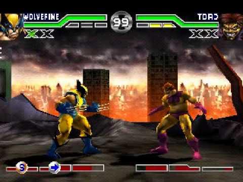 X-Men Mutant Academy (PLAYSTATION) Inv as Wolveriene