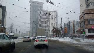 . Москва-Сокольники-Три вокзала. Поездка на автомобиле по городу