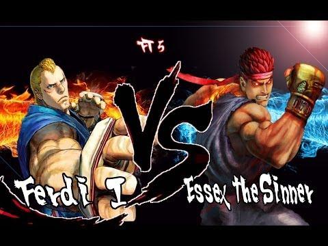 Ferdi I [Abel] vs Essex the Sinner [E Ryu] FT5 SSF4AE
