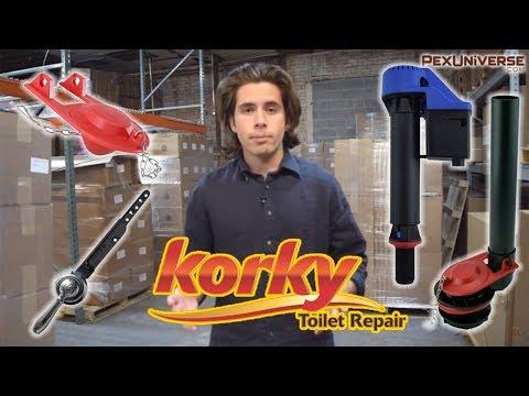Korky Toilet Repair Parts - Flappers, Flush Valves, Fill Valves, Toilet Tank Levers