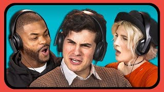 YOUTUBERS REACT TO YOUTUBE REWIND 2017 thumbnail