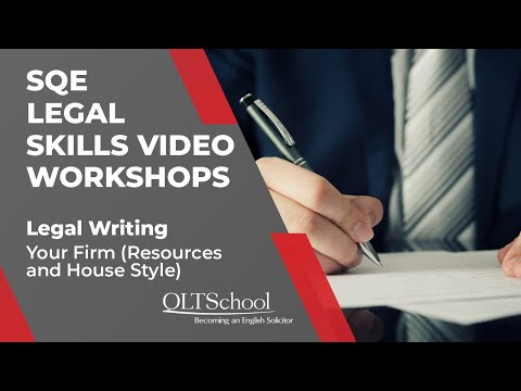 Preview - Legal Writing - Your Firm – Resources and House Style