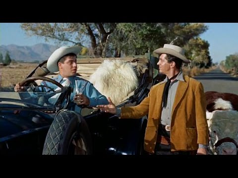 ►Western Movies: Pardners 1956  Dean Martin, Jerry Lewis, Lori Nelson