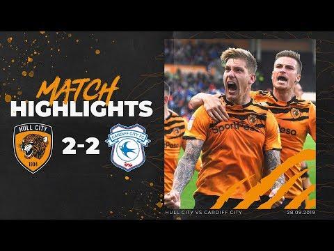 Hull City 2-2 Cardiff City | Highlights | Sky Bet Championship