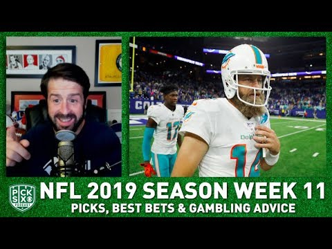 Week 11 Picks Against the Spread, Best Bets, Gambling Advice I Pick Six Podcast
