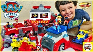 Paw Patrol Race and Go Mobile Pit Stop