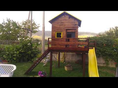 Casetta In Legno Bambini Fai Da Te Youtube
