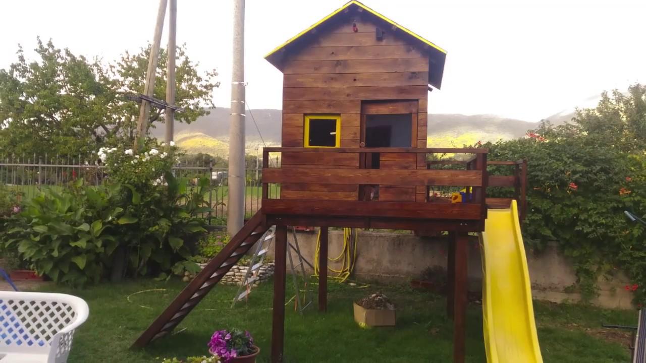 Casette Per Bambini In Legno : Casetta palafitta per bambini super aldea green house