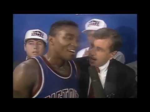 Isiah Thomas - Game 4 1989 NBA Finals (Championship Clincher)