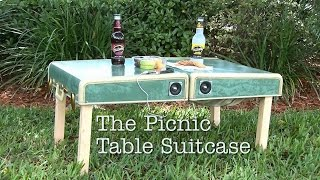 DIY Picnic Table Suitcase!
