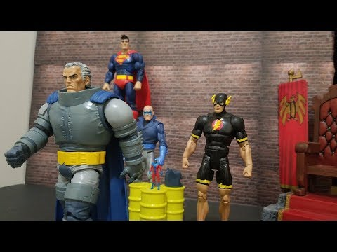 DC Multiverse The Flash & The Atom Figure review