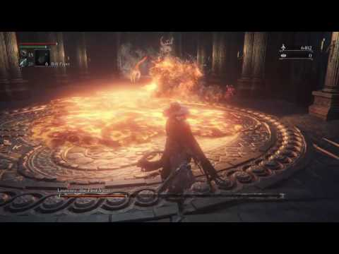 Bloodborne Waste of skin BL4 Laurence, the First Vicar
