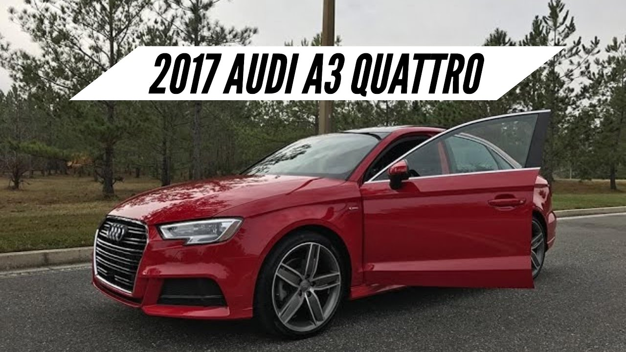 2017 audi a3 quattro overview pov drive launch control. Black Bedroom Furniture Sets. Home Design Ideas