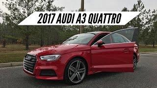 2017 Audi A3 Quattro Overview / Pov Drive / Launch Control