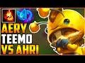 Best Teemo NA | Aery Teemo | Teemo vs Ahri Mid !