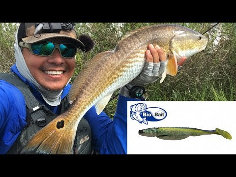 Paddle Tail TORTURE Test, Bio Bait Crushes Redfish