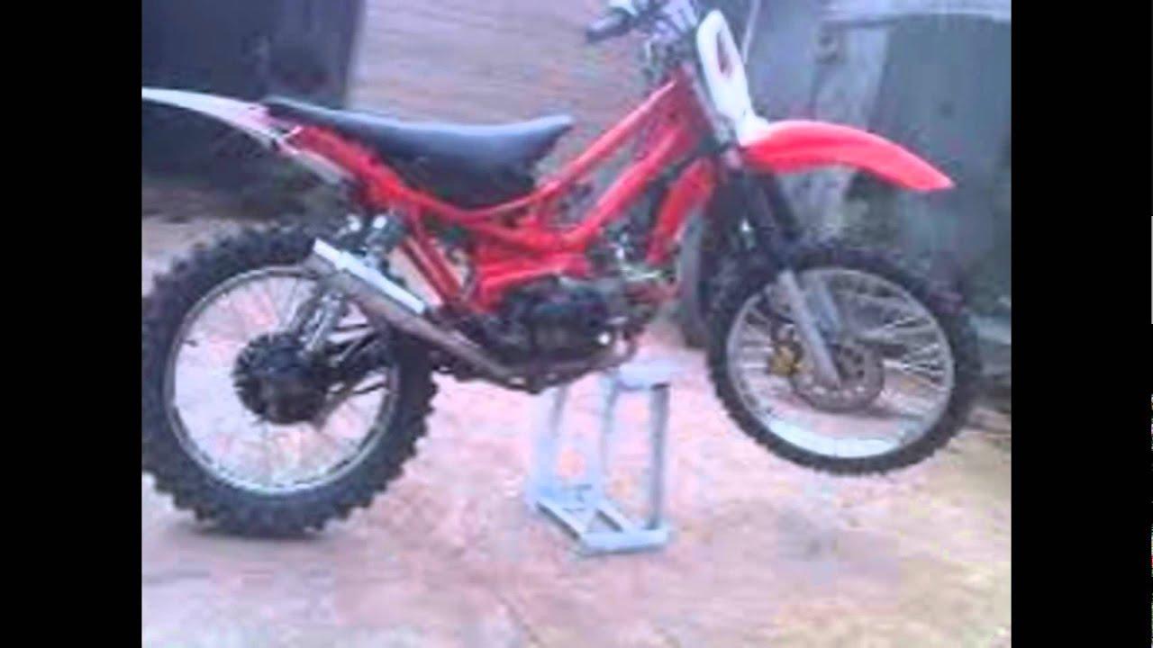 Modifikasi Motor Trail Motorplus Modif Trail''Yamaha Vega