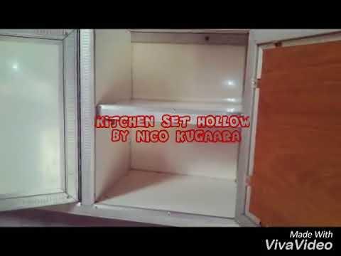 Cara Membuat Kitchen Set Dari Hollow