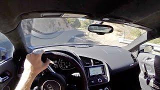 2014 Audi R8 V10 Plus - WR TV POV Canyon Drive