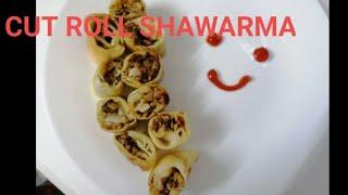 CUT ROLL SHAWARMAfood records of shifa