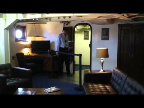 USS Iowa -  Captain's Cabin - Pres / Roosevelt's Cabin