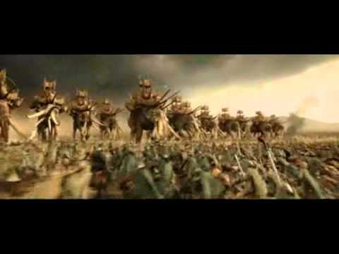 Rohan army vs Haradrim army en streaming