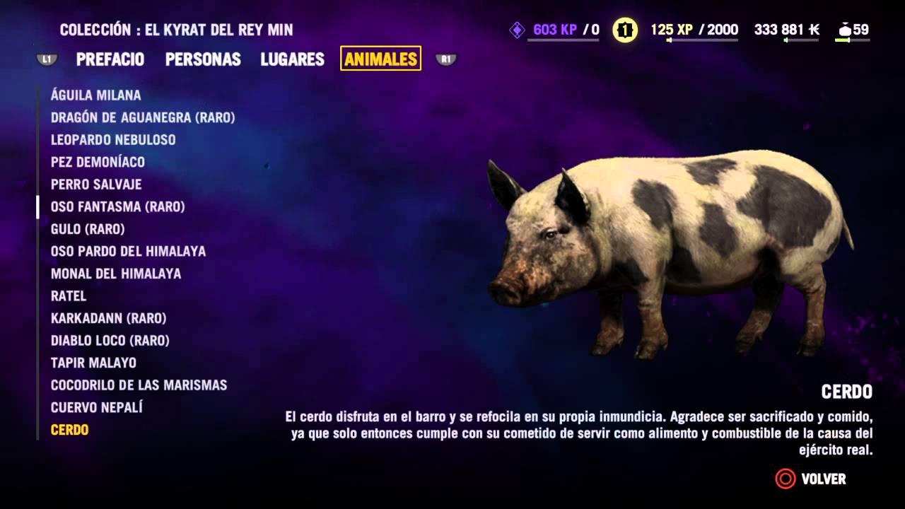 Far Cry 4 : Todos Los Animales
