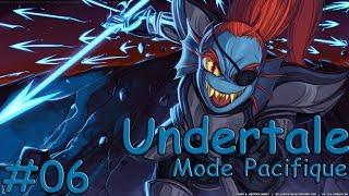 Undertale FR   Ep. 6 Route Vrai Pacifiste : Combat contre Undyne   Playthrough HD par Floflosera