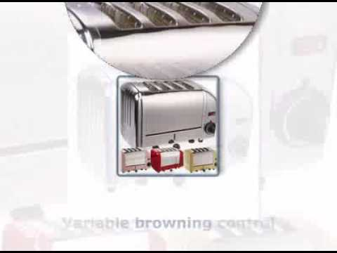 Dualit 40352 4 Slot Toaster in Polished Steel