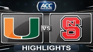 Miami vs NC State | 2014 ACC Baseball Highlights
