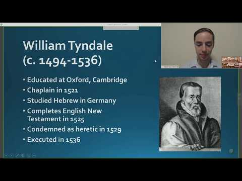 08.27.17 Sunday School: English and Scottish Reformation
