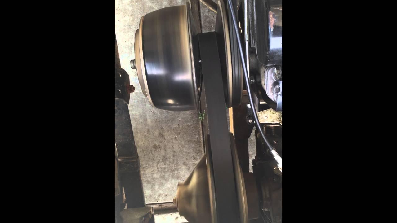 Ezgo txt high rpm clutch engage