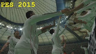 PES 2015 Gameplay - Real Madrid vs Atletico Madrid HD (PC PS4)