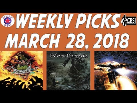 Weekly Picks for New Comic Books Releasing March 28, 2018