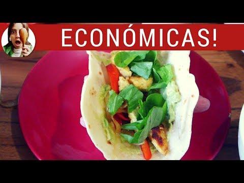 MASA PARA TACOS (tipo rapiditas): tortillas de harina para tacos, fajitas o wraps