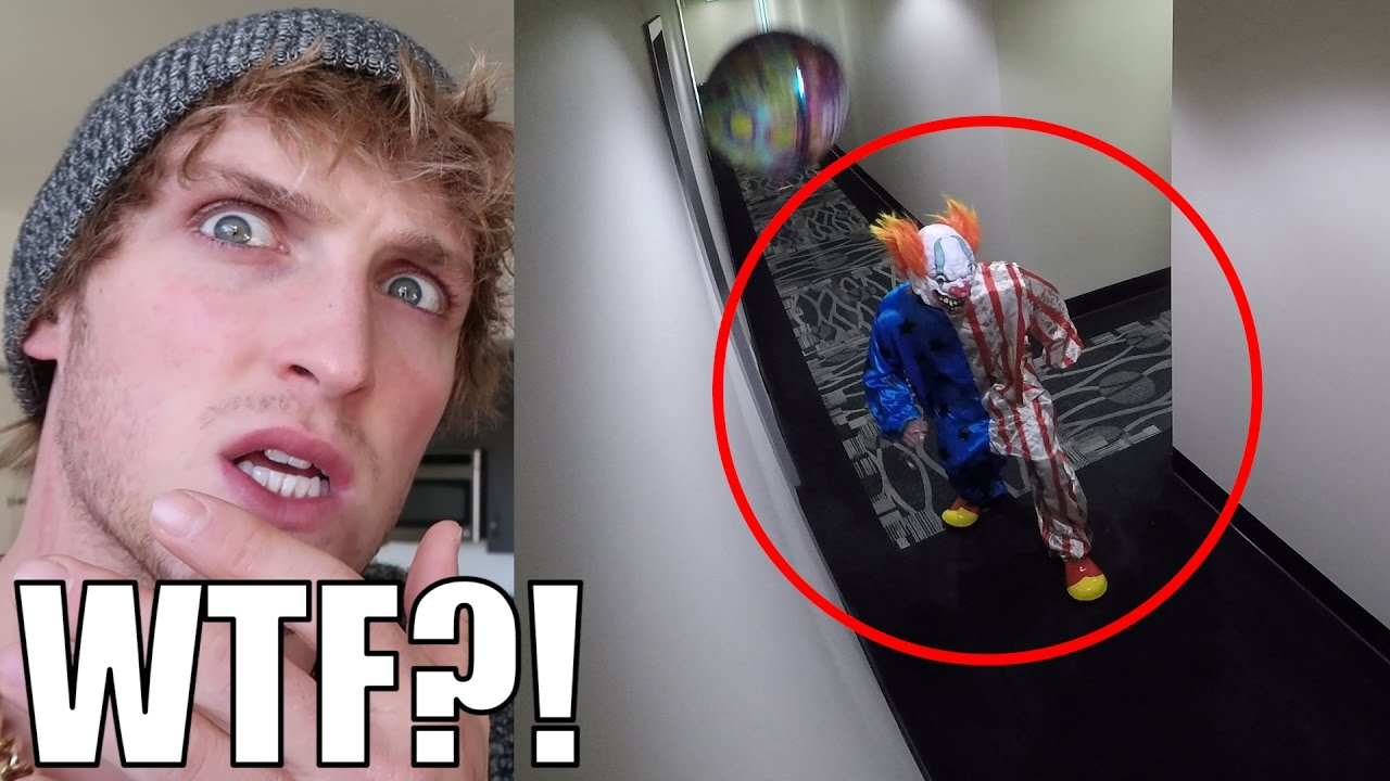 Killer Clown Invades Our Home Security Footage Youtube