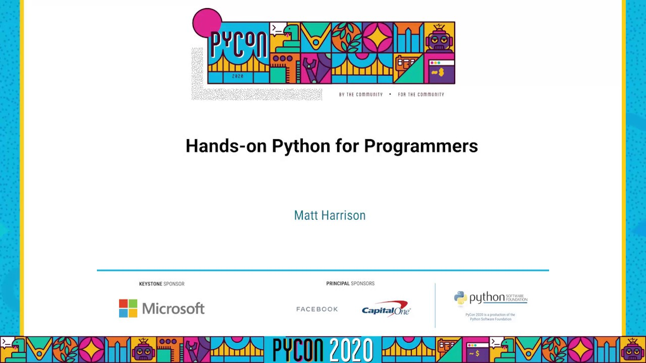 Image from Hands-on Python for Programmers