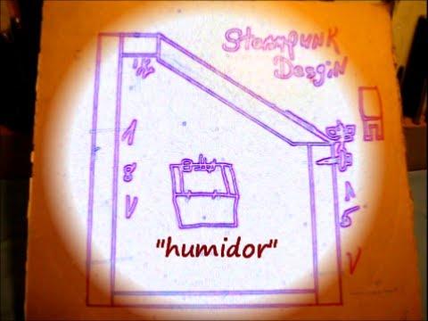 how to make a humidor youtube